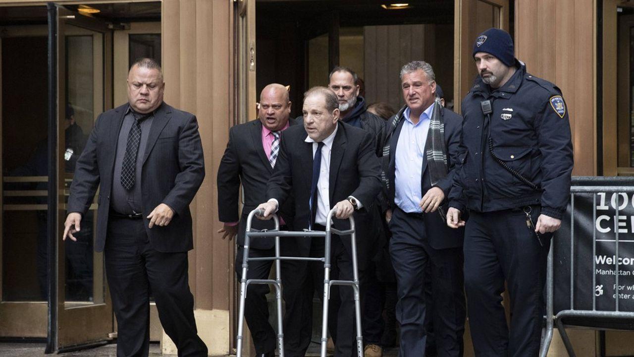 Le procès contre l'ancienpatron du studio Miramax devrait durer six semaines.