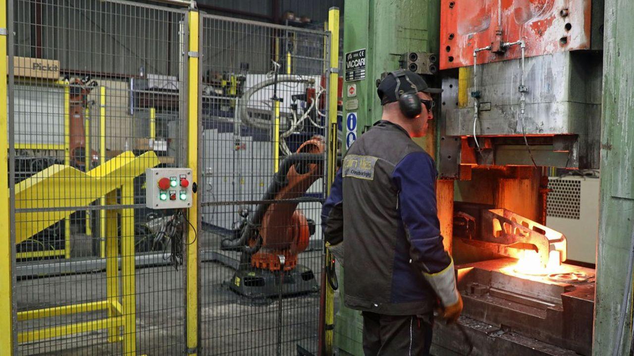 La robotisation permet non seulement d'être compétitif, mais aussi de supprimer les tâches les plus ingrates ou difficiles », souligne Jean-Luc Pigeot, le PDG de la forge Colin Milas.