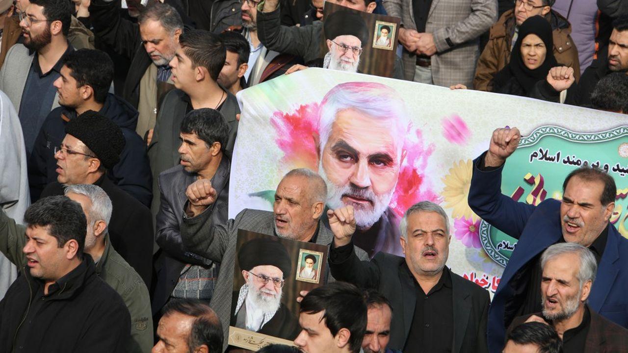 Les tensions sont vives au Moyen-Orient depuisl'assassinat du général iranien Qassem Soleimani.
