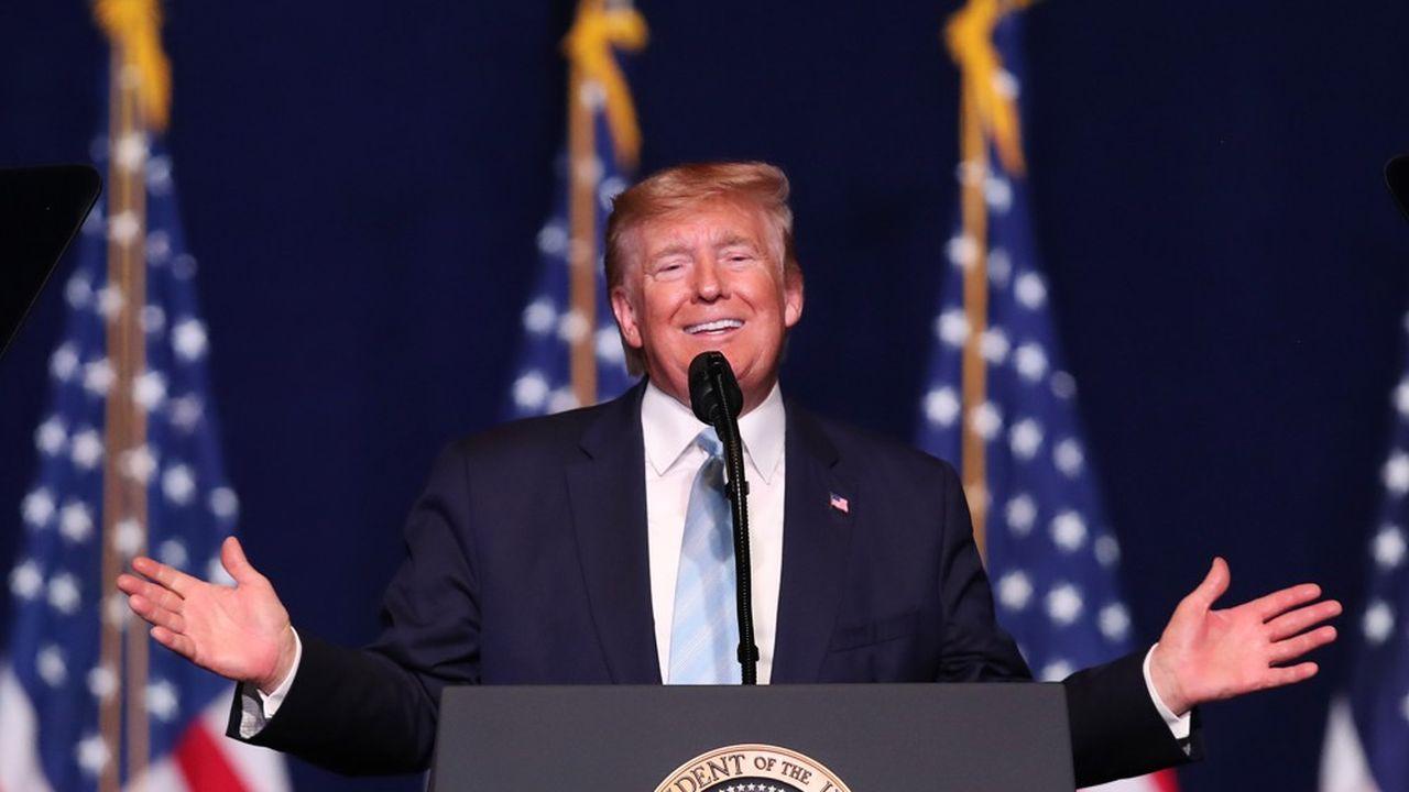 Donald Trump a tenté vendredi de donner des gages aux évangélistes, qu'il doit séduire en prévision de la campagne présidentielle de 2020.