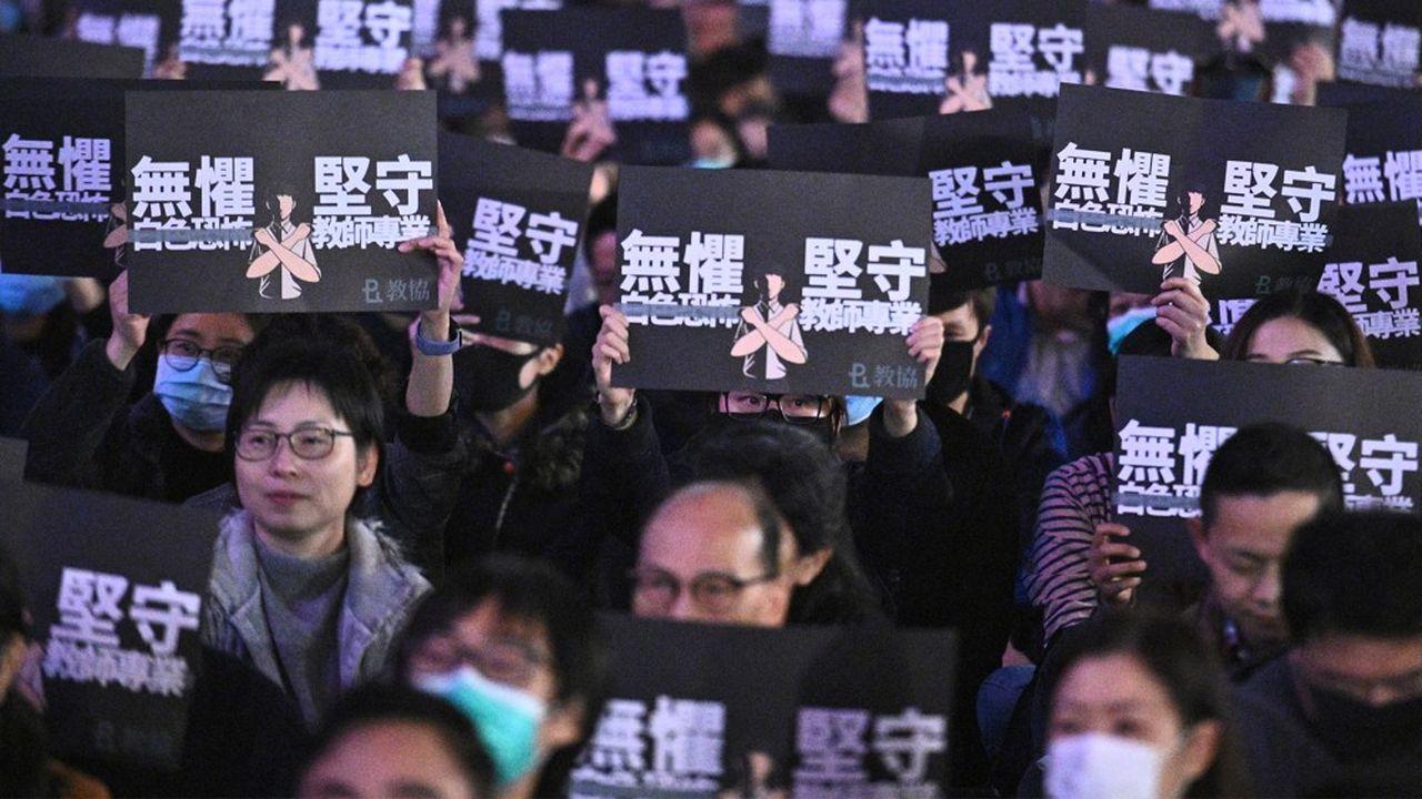 Hong Hong est secoué par des manifestations depuis plusieurs mois.