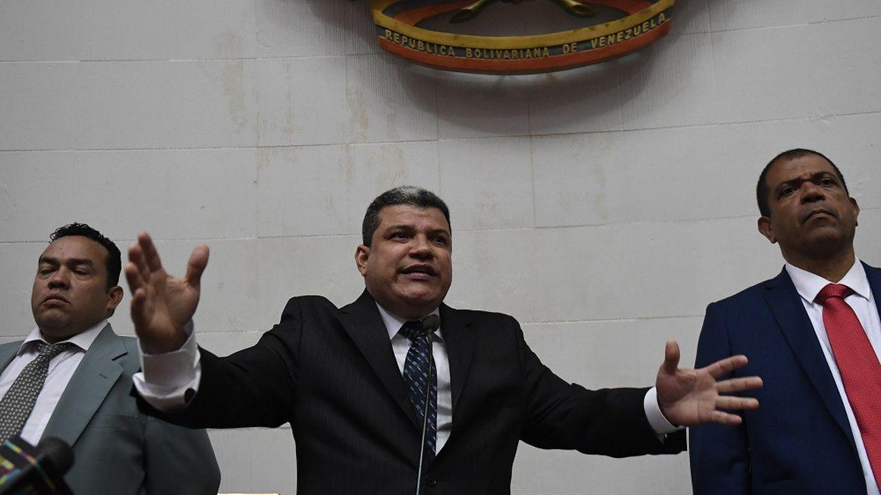 Malgré son exclusion du parti d'opposition Primero Justicia, Luis Parra se revendique toujours comme un opposant à Nicolas Maduro.
