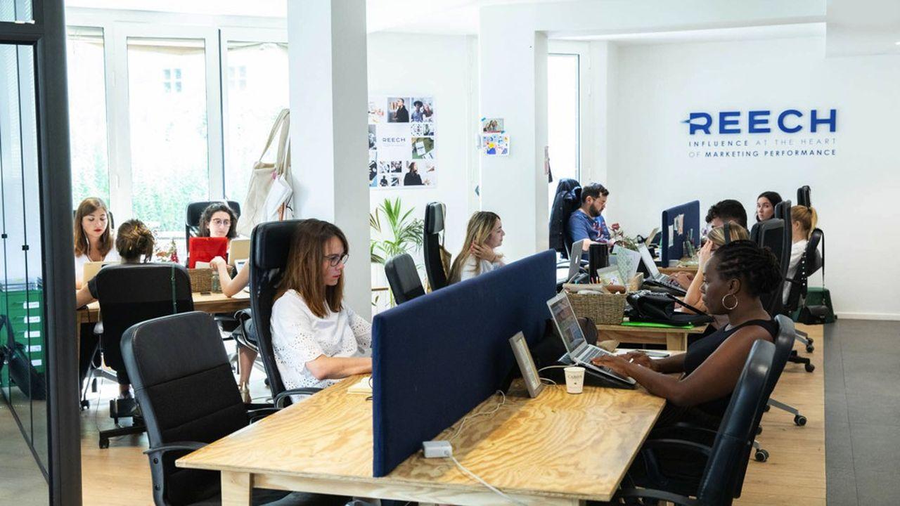 Lancé en 2015 et fort d'une cinquantaine de salariés, Reech a réalisé un chiffre d'affaires d'un peu plus de 8millions d'euros en 2019.