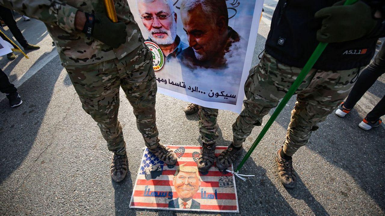En tant que responsable des opérations des forces de sécurité à l'étranger, Soleimani aurait été l'instigateur des attaques à la roquette contre les bases américaines en Irak.