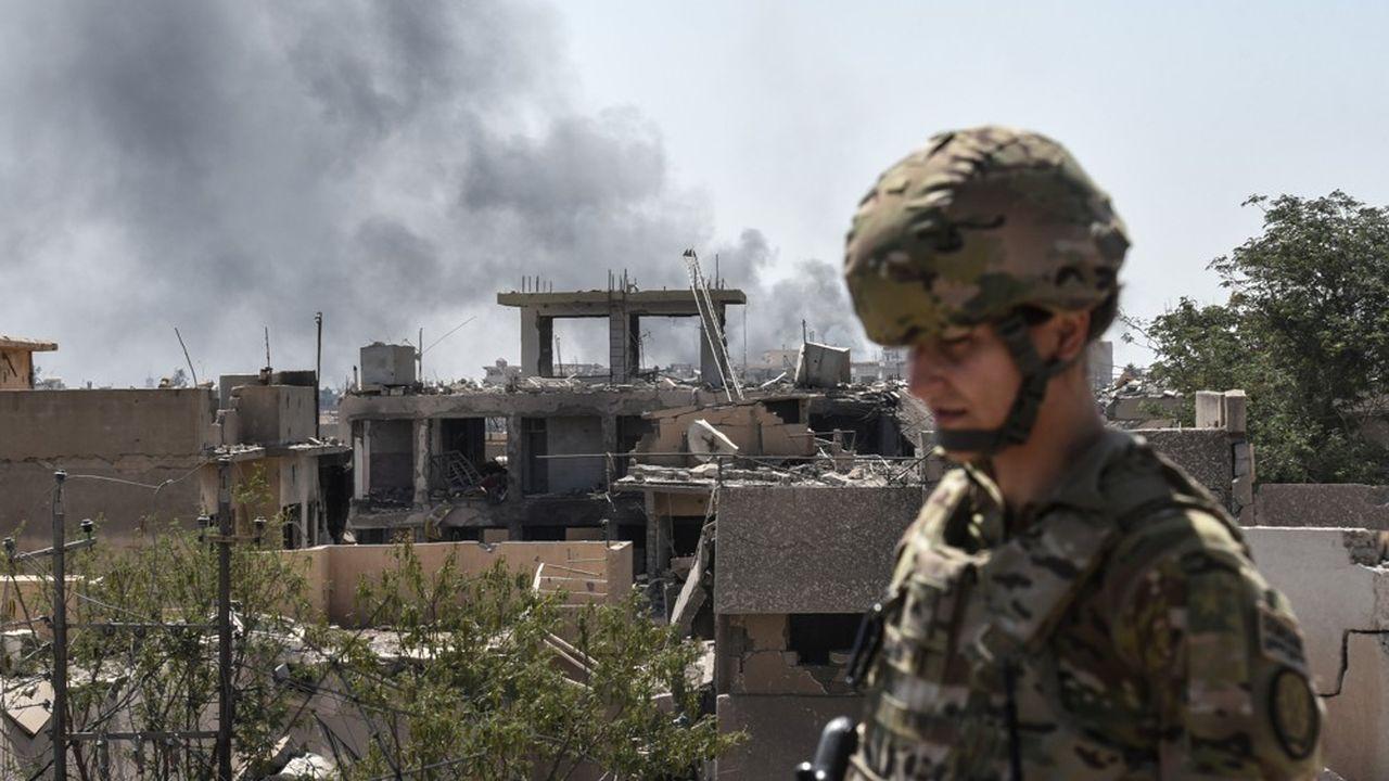 Sur les 76 pays membres de la coalition antidjihadiste, les Etats-Unis comptent le plus gros contingent avec 5.200 soldats.