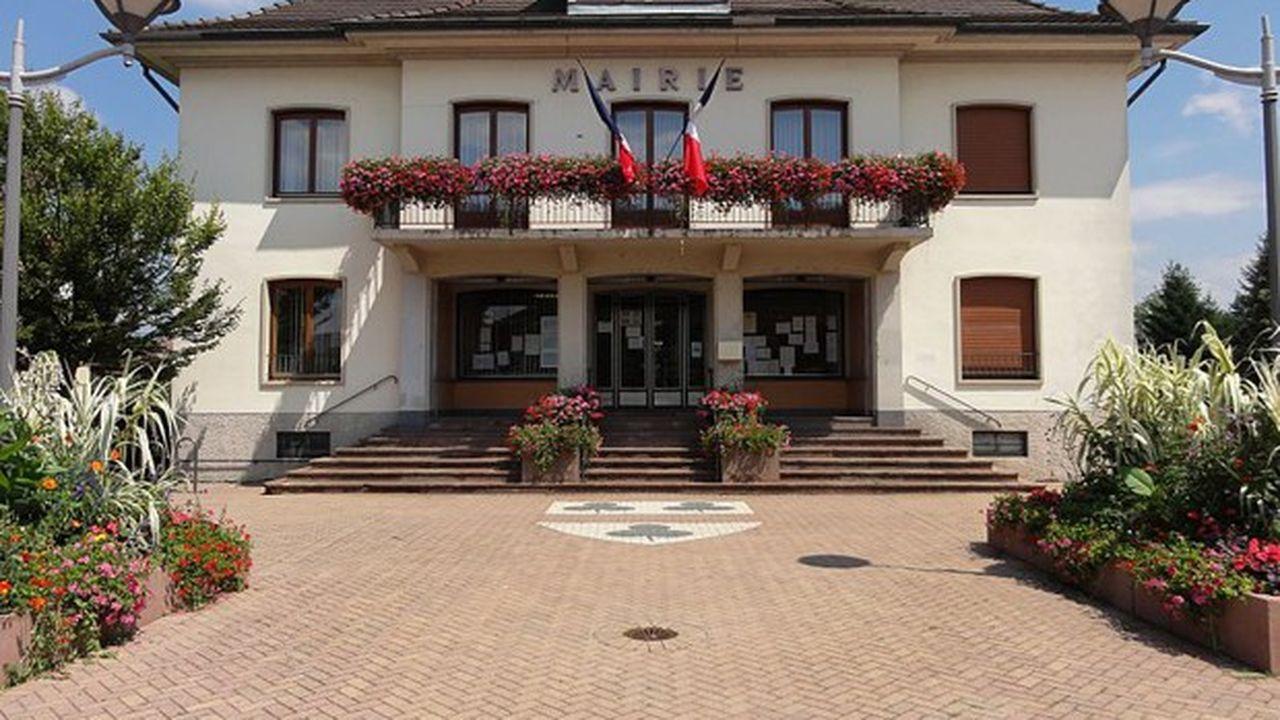 La mairie de Plobsheim.
