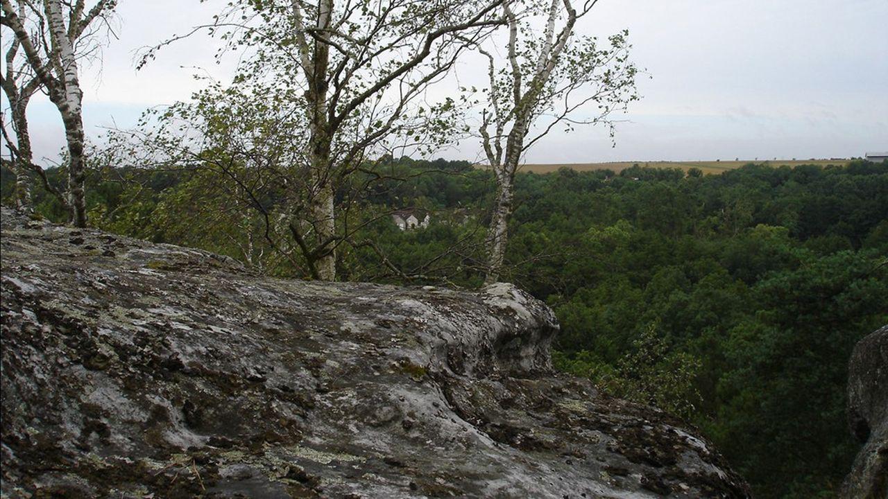 Le parc naturel régional du Gâtinais, situé à cheval sur les départements de l'Essonne et de la Seine-et-Marne, regroupe 69 communes.
