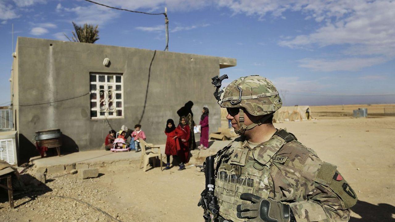 Les troupes américaines avaient déjà quitté l'Irak, avant de revenir dans le cadre d'une mission contre l'Etat islamique.