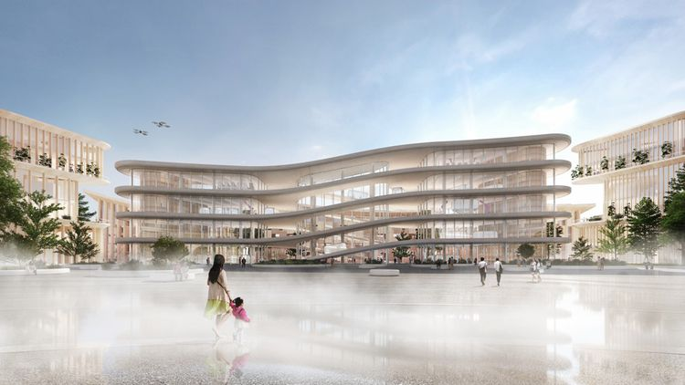 A cidade acomodará Cerca de 2.000 residentes permanentes, inicialmente, mas também pesquisadores'accueillir environ 2.000 résidents permanents, dans un premier temps, mais aussi des chercheurs