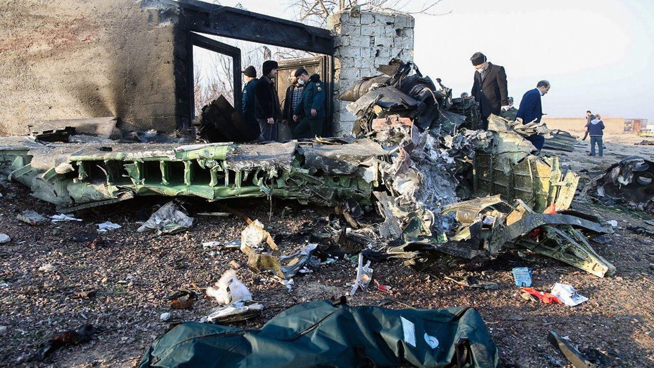 Le vol PS-752 d'Ukraine International Airlines qui reliait les villes de Téhéran à Kiev s'est écrasé peu après son décollage