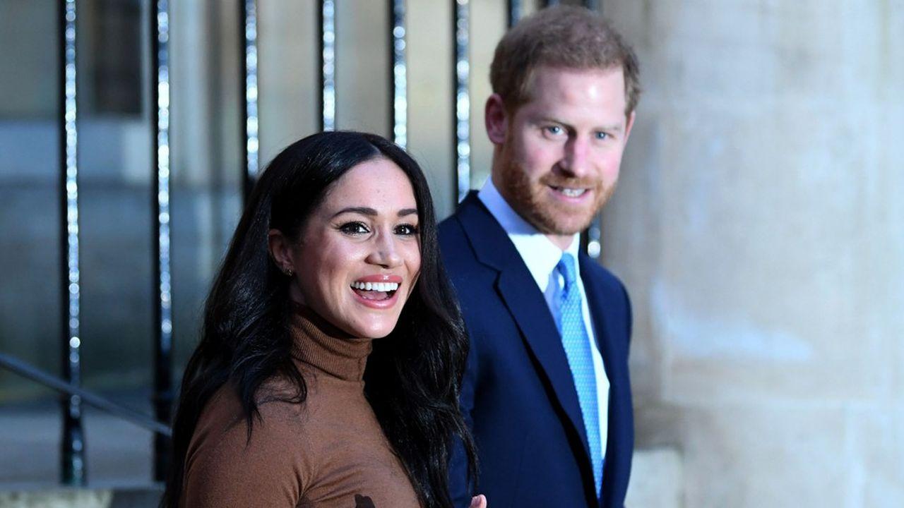 Le prince Harry et son épouse Meghan ont annoncé mercredi leur souhait de se mettre en retrait de la famille royale britannique.