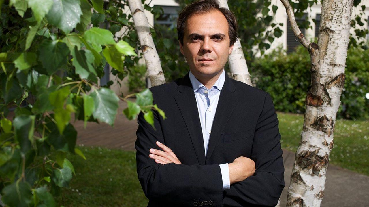 François-Henri Boissel, président de l'entreprise lyonnaise Novadiscovery.