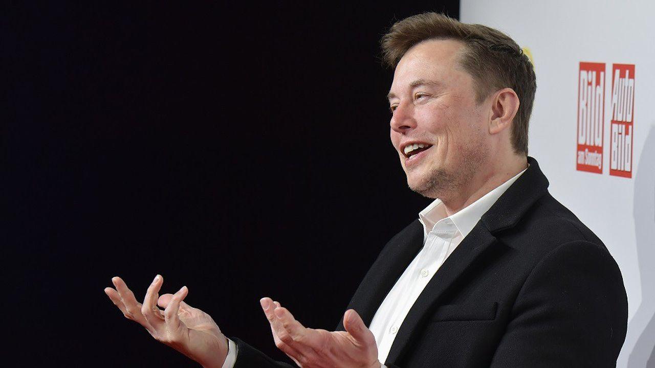 Elon Musk était venu en Allemagne en novembre2019 pour présenter son projet de «gigafactory» européenne.