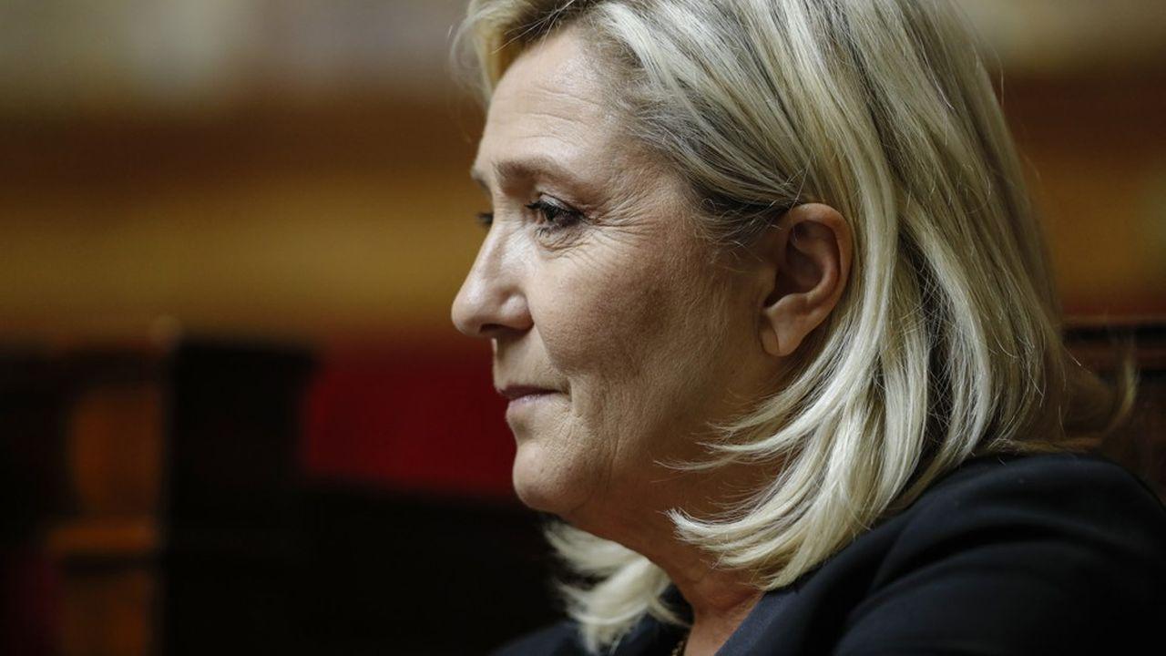 Marine Le Pen a déclaré soutenir «ceux qui expriment leur désaccord avec cette réforme des retraites».