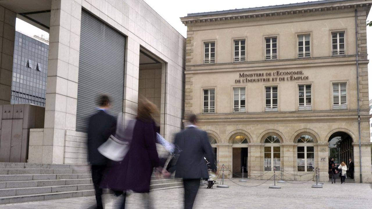 Le ministère français de l'Economie et des Finances.