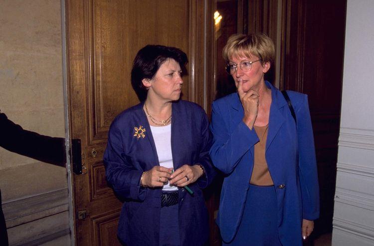 Martine Aubry, 18 septembre 1997 Nicole Notat, secrétaire générale de la CFDT.