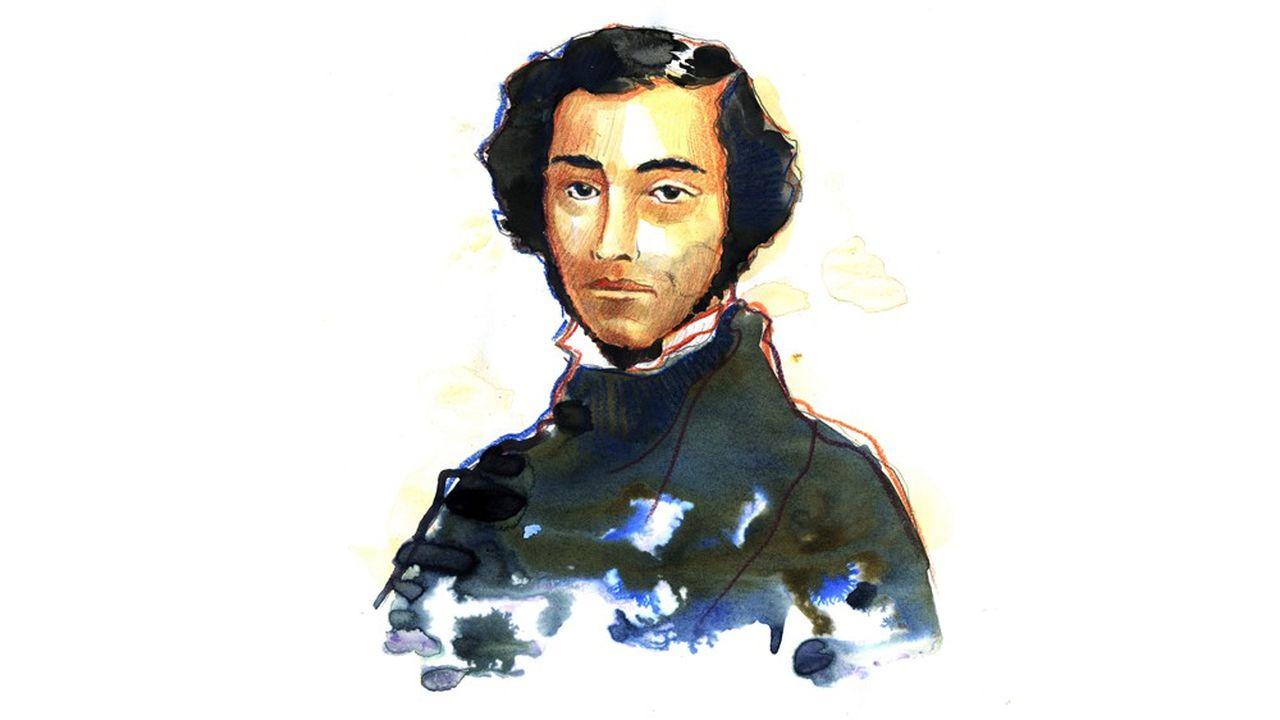 Charles-Alexis-Henri Clerel de Tocqueville (1805-1859).