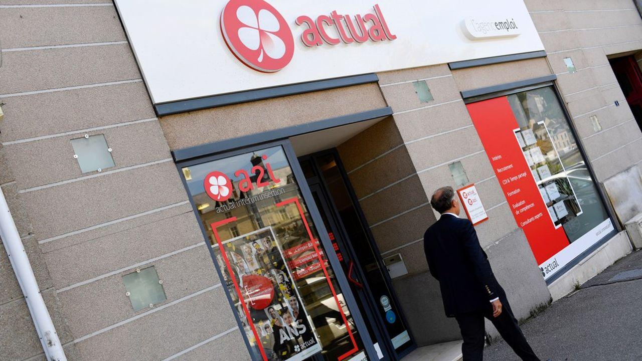 Le réseau d'Actual possède 400 agences, avec 1.650 salariés pour un chiffre d'affaires d'1,3milliard d'euros.