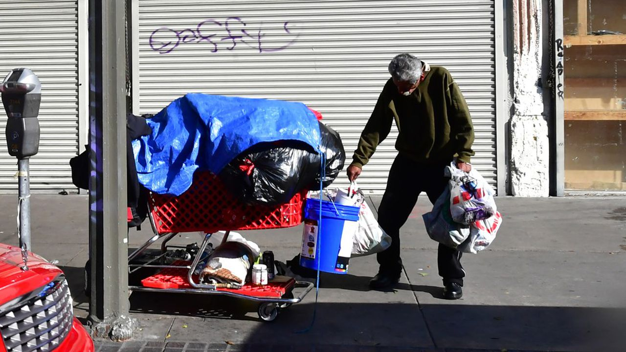 Etat le plus peuplé du pays avec 40millions d'habitants environ, la Californie compte quelque 150.000 «homeless», soit plus du quart des SDF recensés aux Etats-Unis.