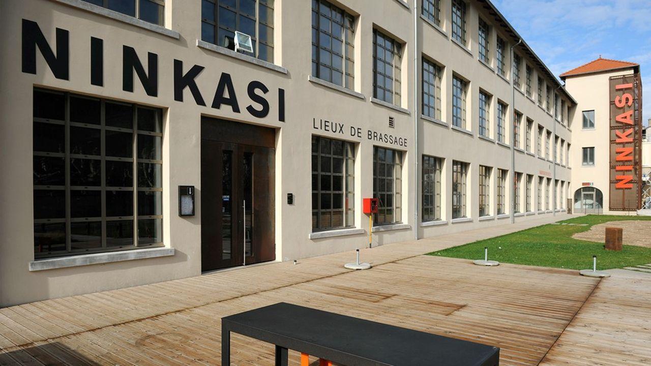 La façade extérieure du nouvel établissement à Saint-Etienne.