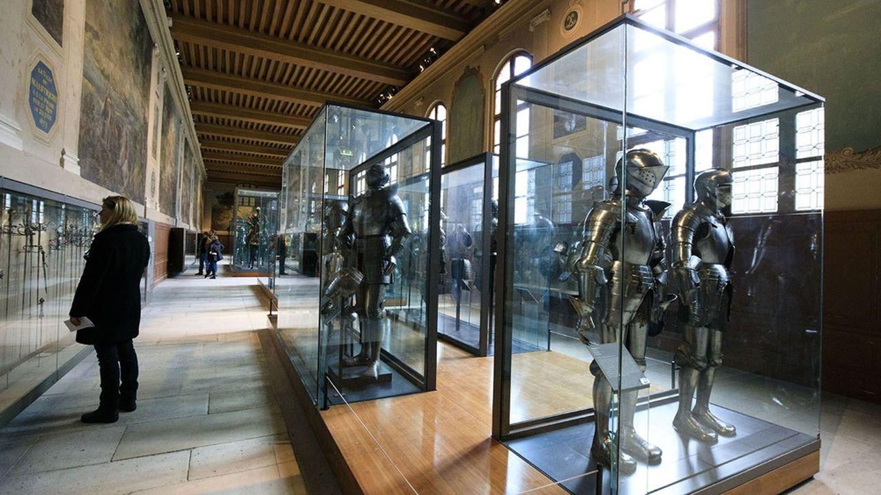 Le Musée de l'Armée à Paris a réussi à séduire un nouveau public.