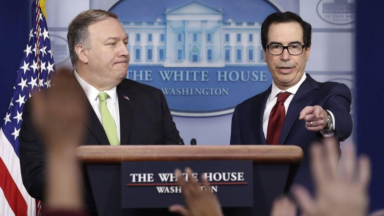 Washington a décidé de riposter avec l'imposition immédiate de nouvelles sanctions économiques contre la République islamique sans donner de détails.