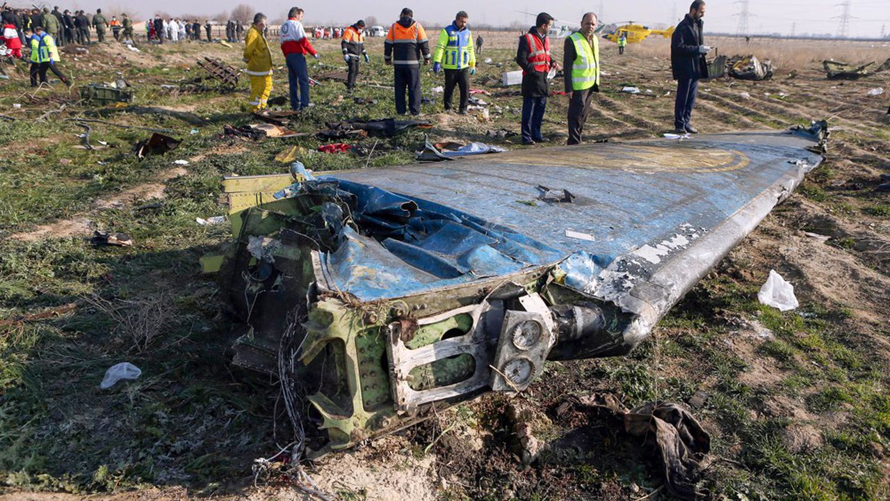 Le crash en Iran d'un Boeing 737 de la compagnie Ukraine Airlines International est probablement dû à un tir accidentel de missile antiaérien iranien