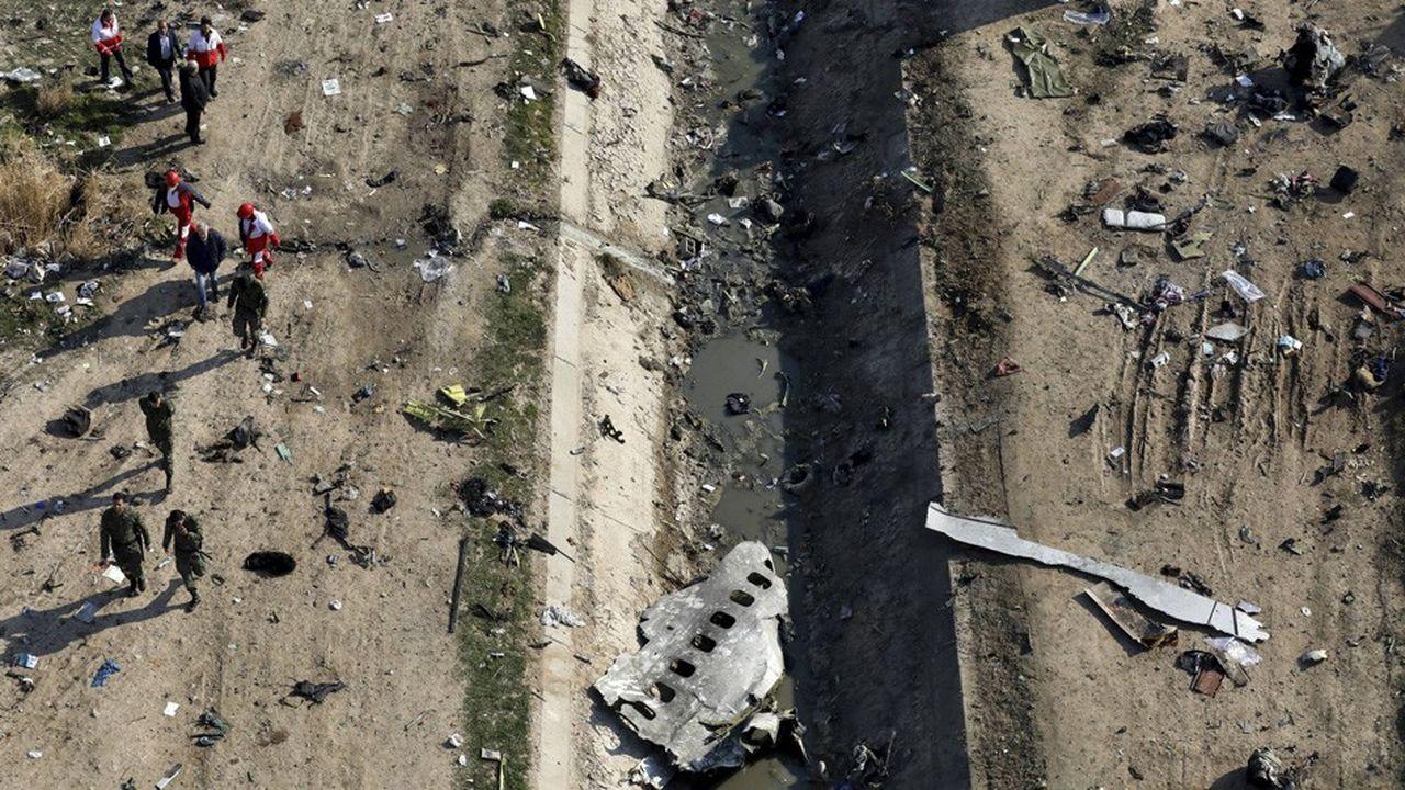L'appareil s'est écrasé dans les heures qui ont suivi les attaques menées par l'Iran contre des bases irakiennes abritant des troupes américaines.