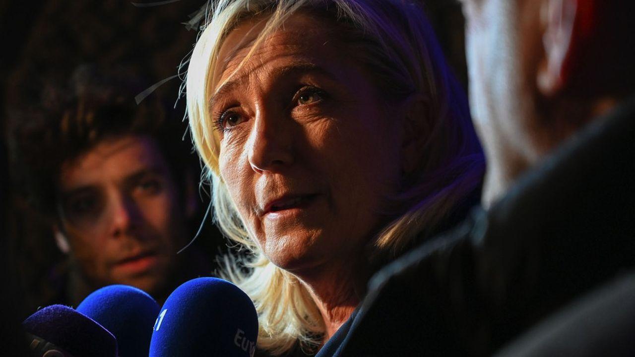 En amont des élections municipales, Marine Le Pen a déclaré dimanche à Paris vouloir «un Etat stratège qui se réapproprie l'aménagement des territoires».