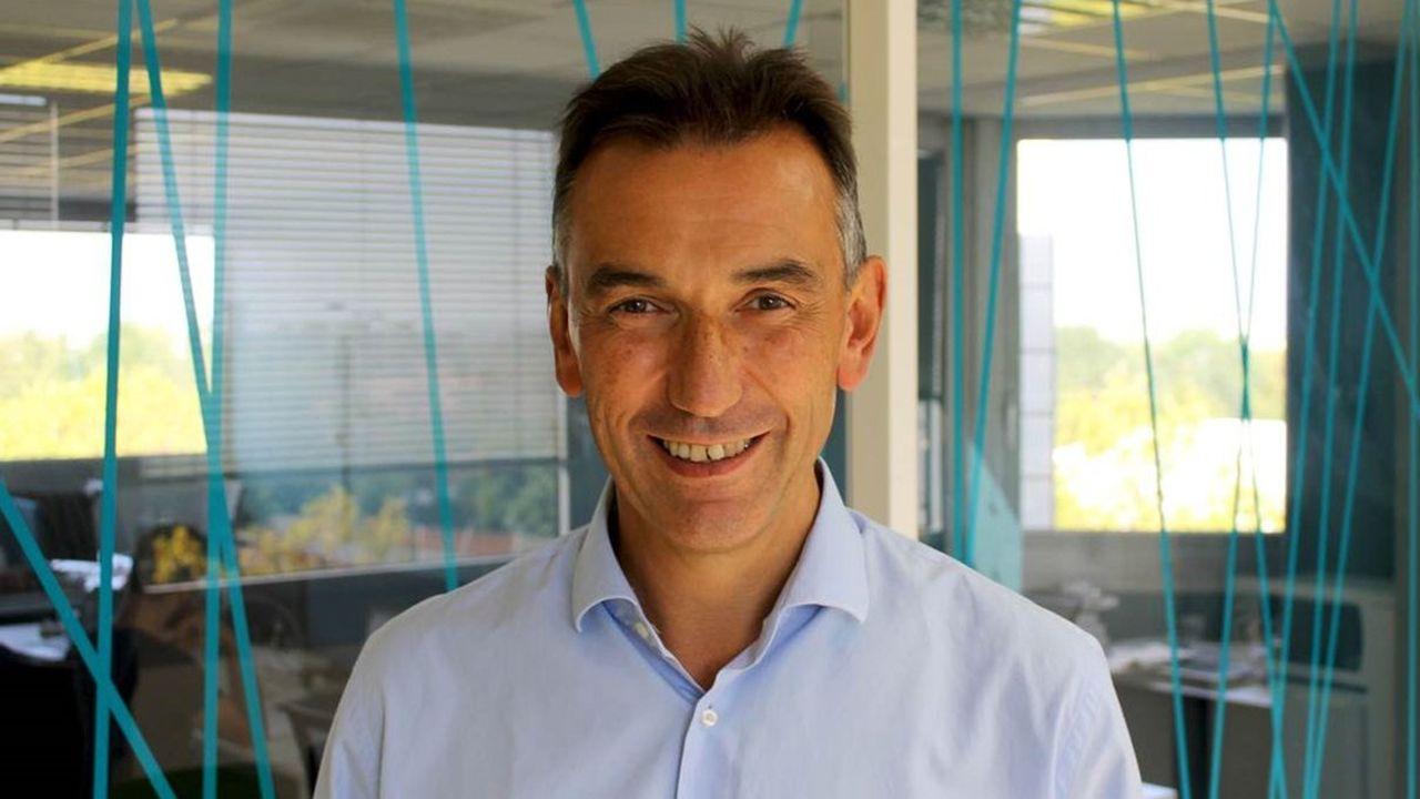 Pierre-Jean Brousset, le fondateur d'Hygia qui préside aussi la société de services numériques Eole Consulting.
