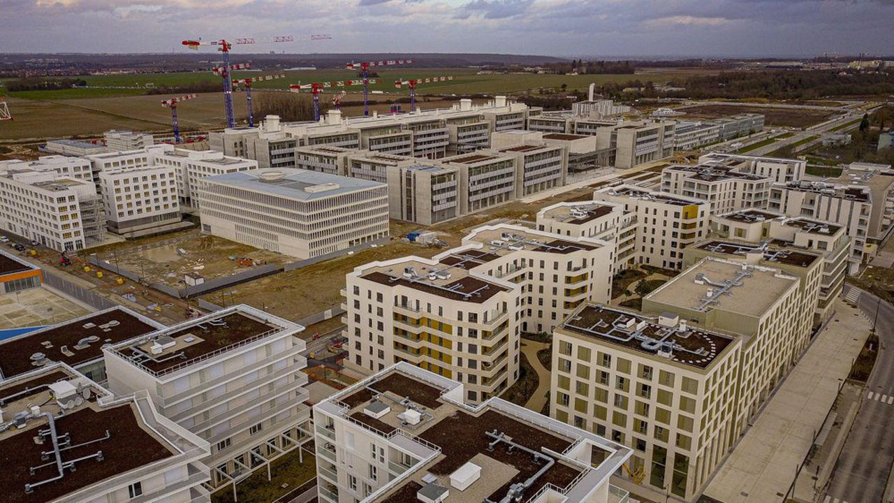 La communauté French Tech d'Ile-de-France regroupe des dizaines de start-up sur le plateau