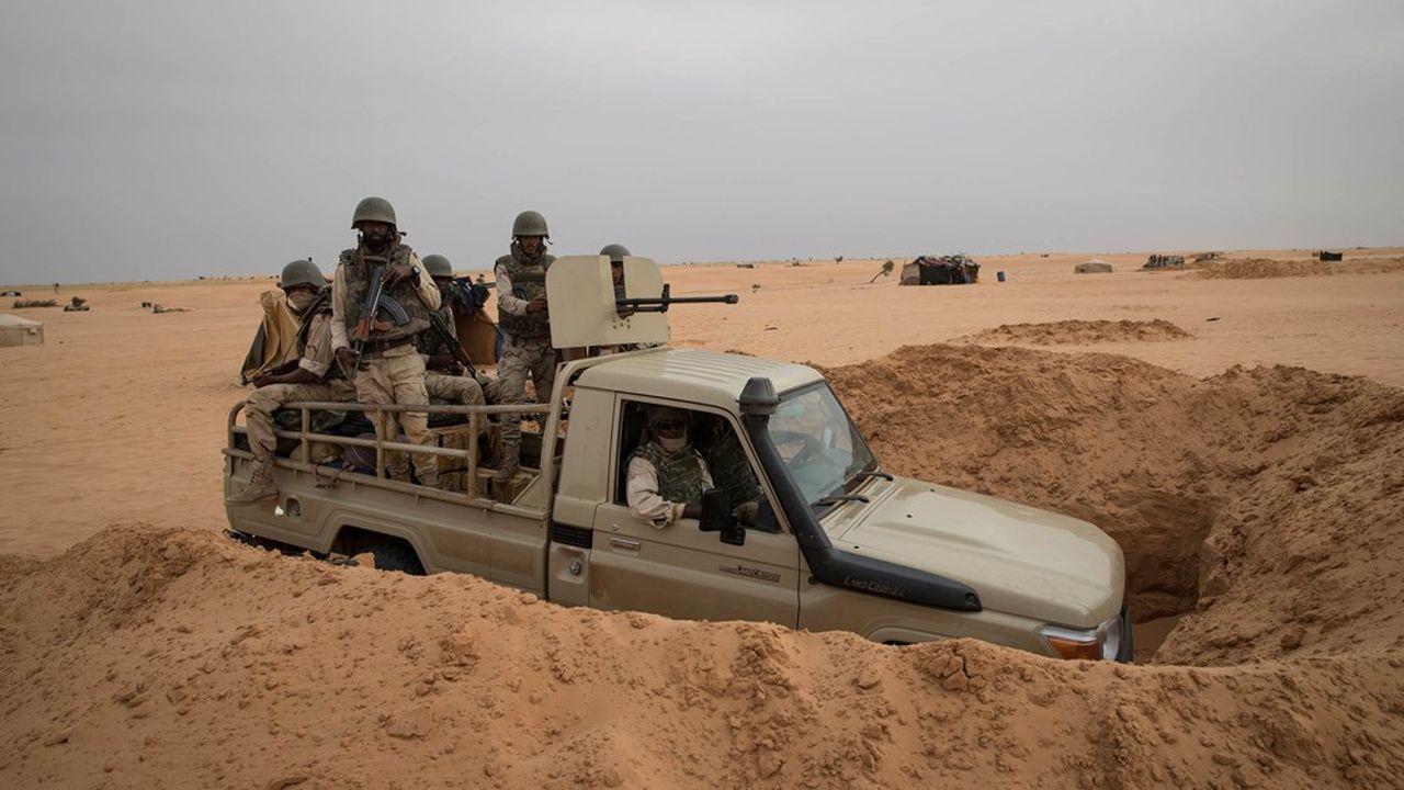 Créé en 2014, le «G5 Sahel» est un cadre de coopération entre cinq pays: le Tchad, le Niger, le Burkina Faso, le Mali et la Mauritanie.