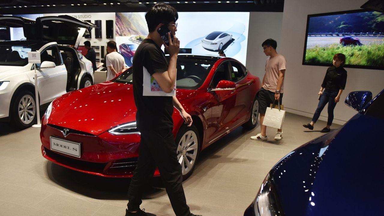 Les véhicules à énergie nouvelle (NEV) ont fini par être rattrapés par la chute du marché automobile chinois.