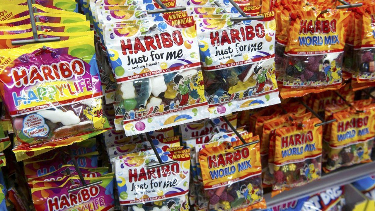 Haribo a augmenté sa part de marché en France de 31% en 2013 à plus de 40% en 2019 en ciblant les innovations et grâce à des efforts soutenus de la publicité