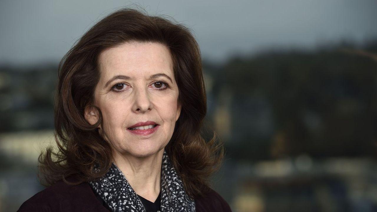 Sophie Bellon, présidente du conseil d'administration de Sodexo.