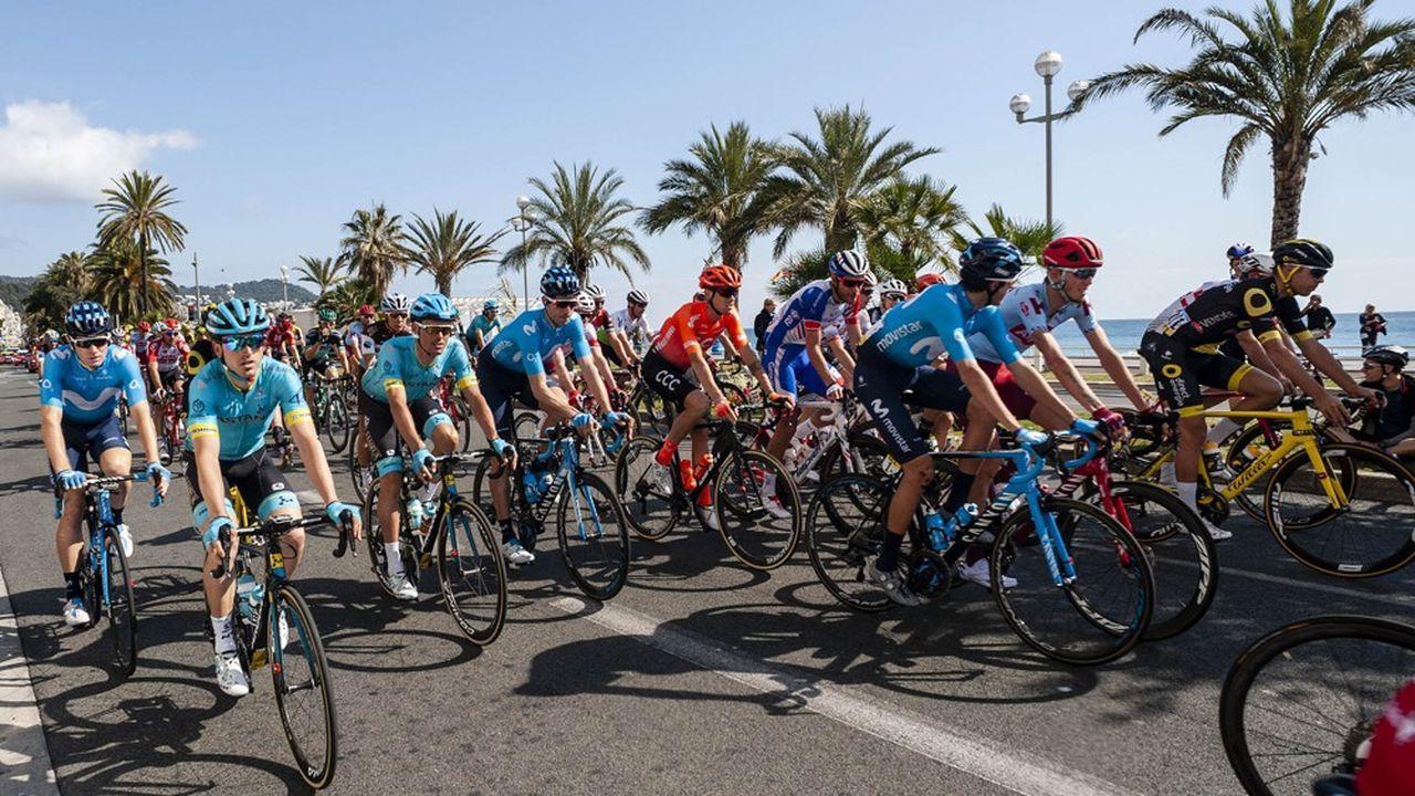 L'arrivée a lieu à Nice, mais depuis onze ans, le départ de la célèbre course cycliste se fait dans le département des Yvelines.