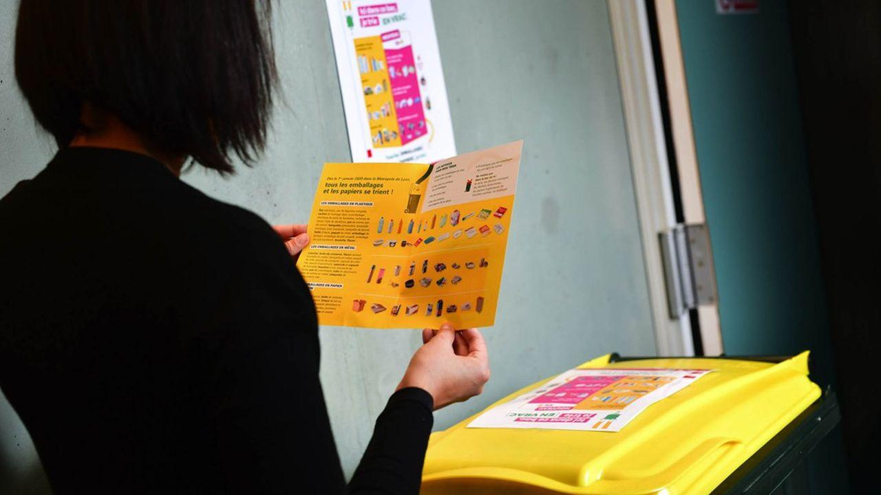 Les Grands Lyonnais peuvent désormais jeter tous leurs emballages en plastique dans le bac jaune.