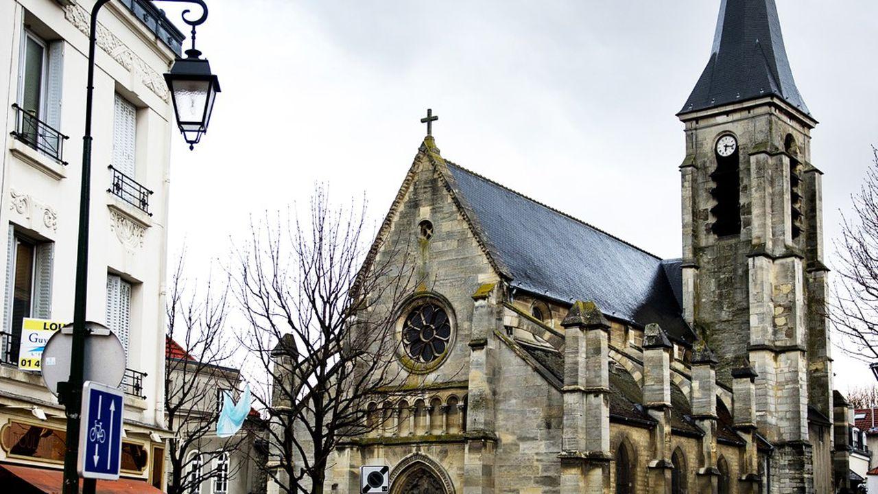 A Bagneux, l'Eglise Saint-Hermeland arbore un nouveau visage