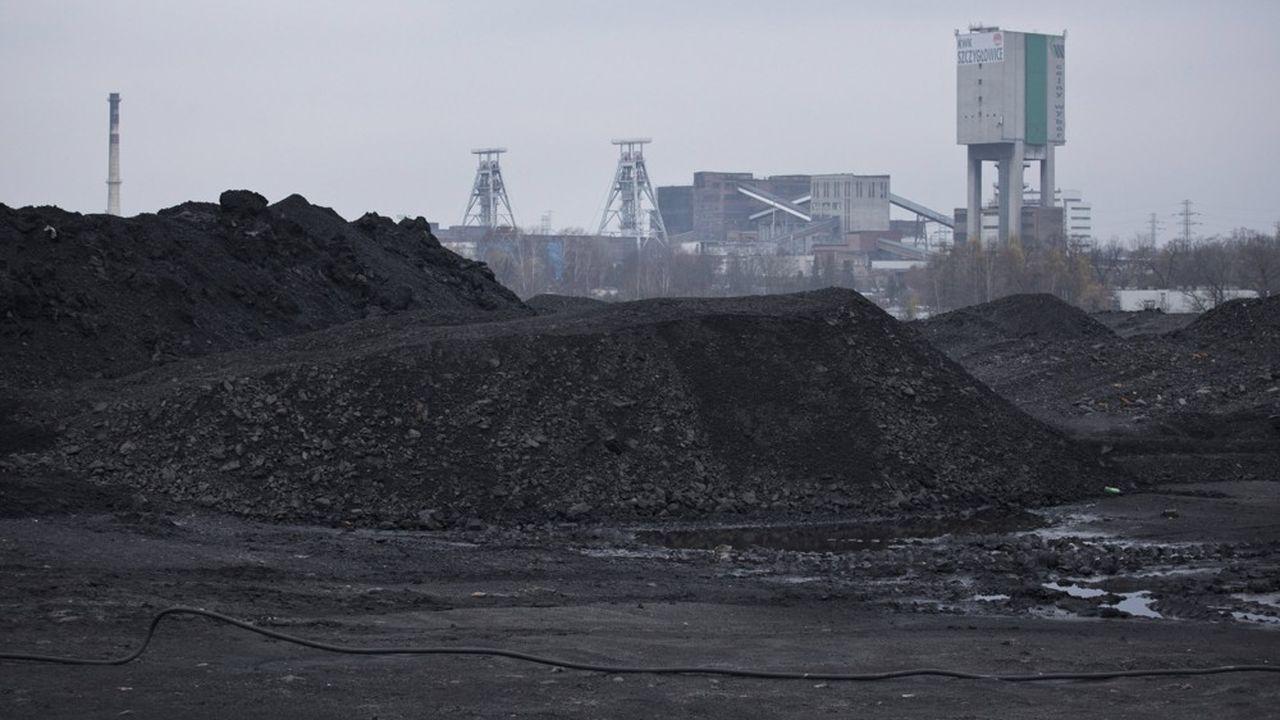 Le fonds de «transition juste» est destiné à soutenir la transition climatique dans les pays de l'Est de l'Europe. Ici, la mine de charbon de Szczyglowice en Haute Silesie (Pologne), premier centre d'extraction de charbon de l'Union européenne.