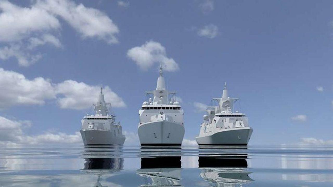 Ce dossier est très politique, la plupart des élus du nord de l'Allemagne, où se trouvent tous les grands chantiers de construction navale du pays, n'admettant guère de confier ce contrat à un groupe non allemand -une première dans l'histoire navale militaire du pays.