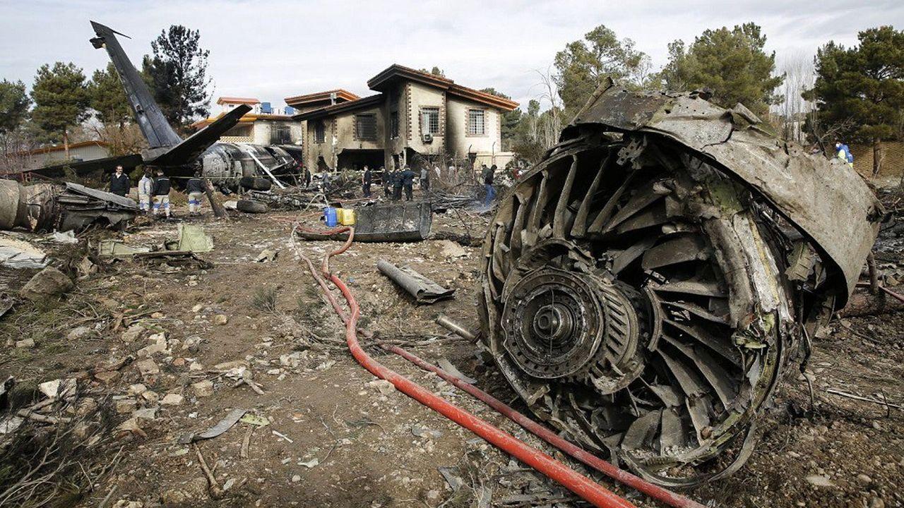 Le Boeing de la compagnie ukrainienne International Airlines avait fait un demi-tour avant de s'écraser non loin de Téhéran.
