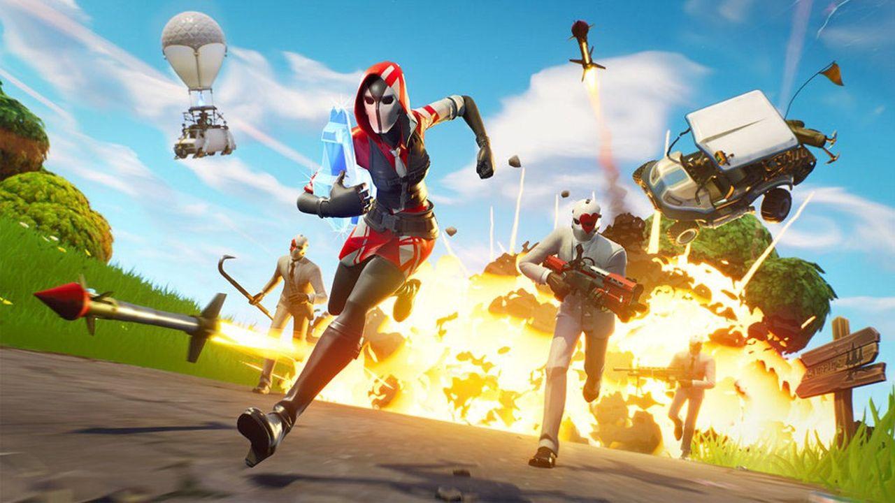 Le titre Fortnite est un phénomène de l'industrie du jeu vidéo