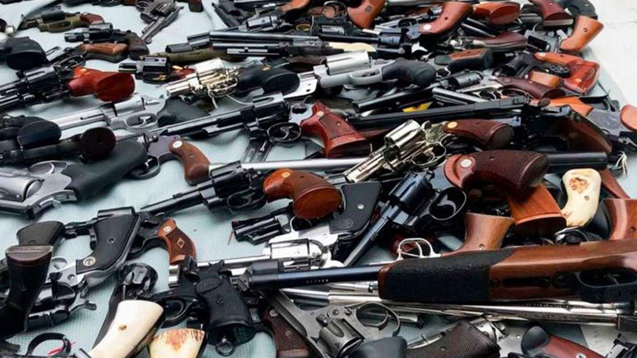 Quelque87% des armes saisies dans les aéroports étaient chargées, souligne l'autorité administrative.
