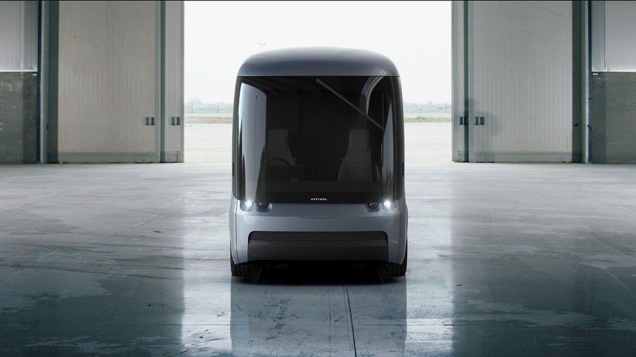 Le van électrique développé par Arrival devrait être commercialisé au premier semestre 2020.