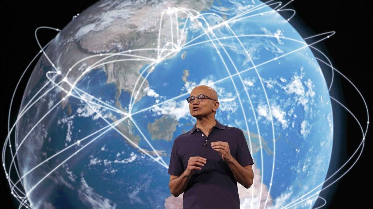 Dirigé par Satya Nadella, Microsoft veut réduire de plus de moitié son impact environnemental d'ici à 2030.