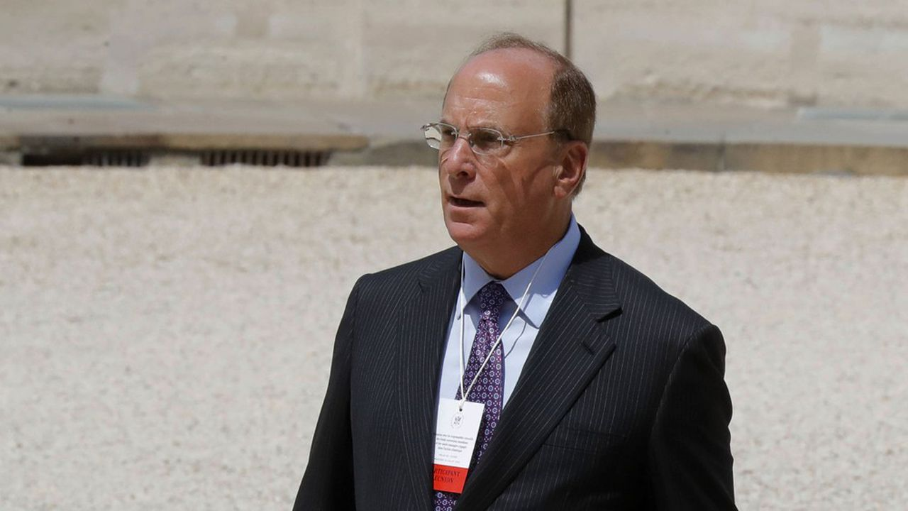 Larry Fink, PDG de BlackRock