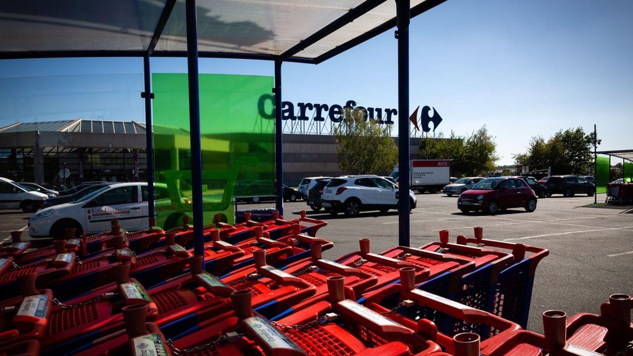 Carrefour a lancé des procédures contre plusieurs de ses fournisseurs.