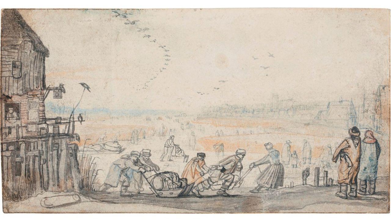 Collection Jean Bonna HENDRICK AVERCAMP (AMSTERDAM 1585-1634)