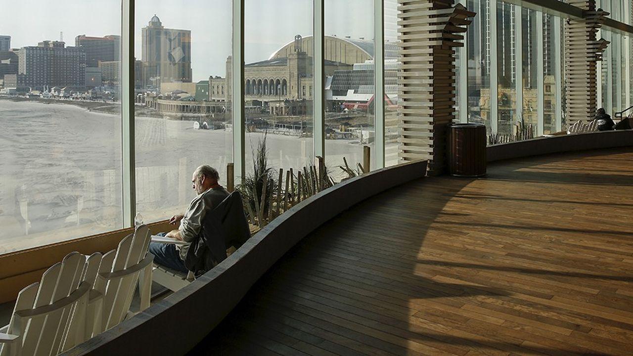 Atlantic City vue depuis le Playground Pier, un centre commercial de luxe, en 2016.