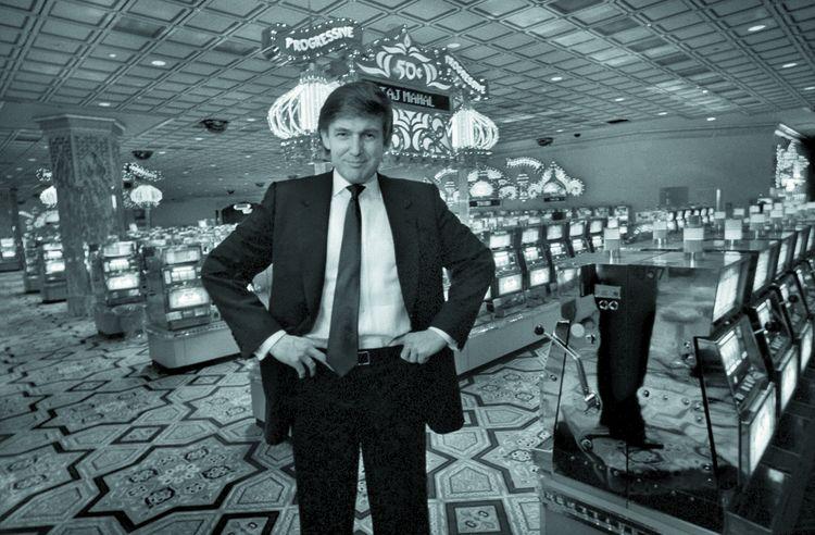 Donald Trump en 1990.